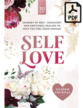 Load image into Gallery viewer, Self-Love guided journal PDF
