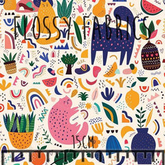 Cats in Charge DBP-Flossy Fabrics