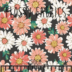 Daisies (Large Scale)-Flossy Fabrics