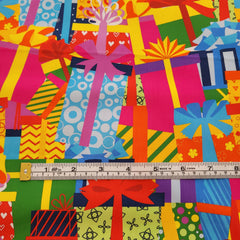 Giftboxes 2M Cut - Cotton Lycra-Flossy Fabrics