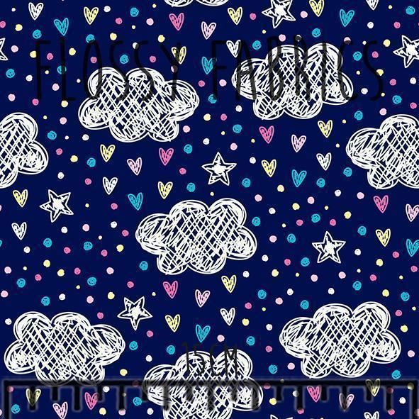 Spring Showers - DBP-Flossy Fabrics