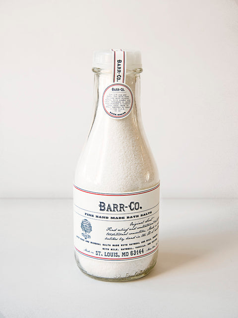 Barr-Co. Fine Handmade Bath Salts