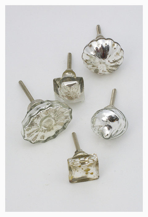 Mercury Glass Knobs