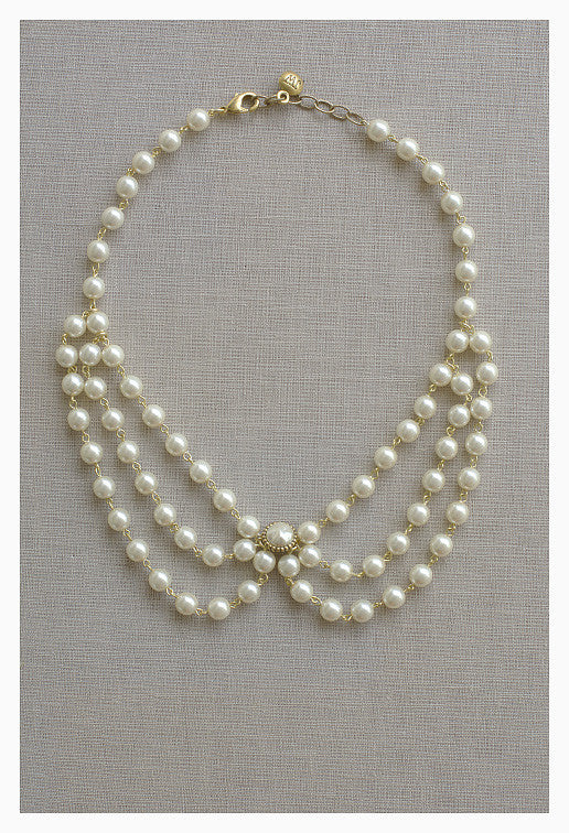 Pearl Collar Necklace