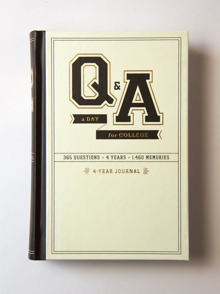 Q&A a Day For College:4-Year Journal