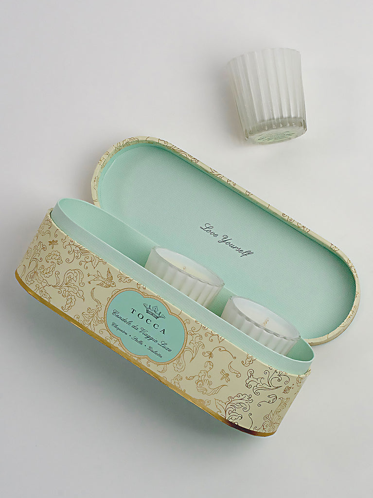 Tocca Mini Candle Gift Set