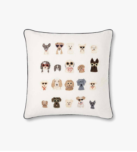Rifle Paper Co. Dog Days Pillow