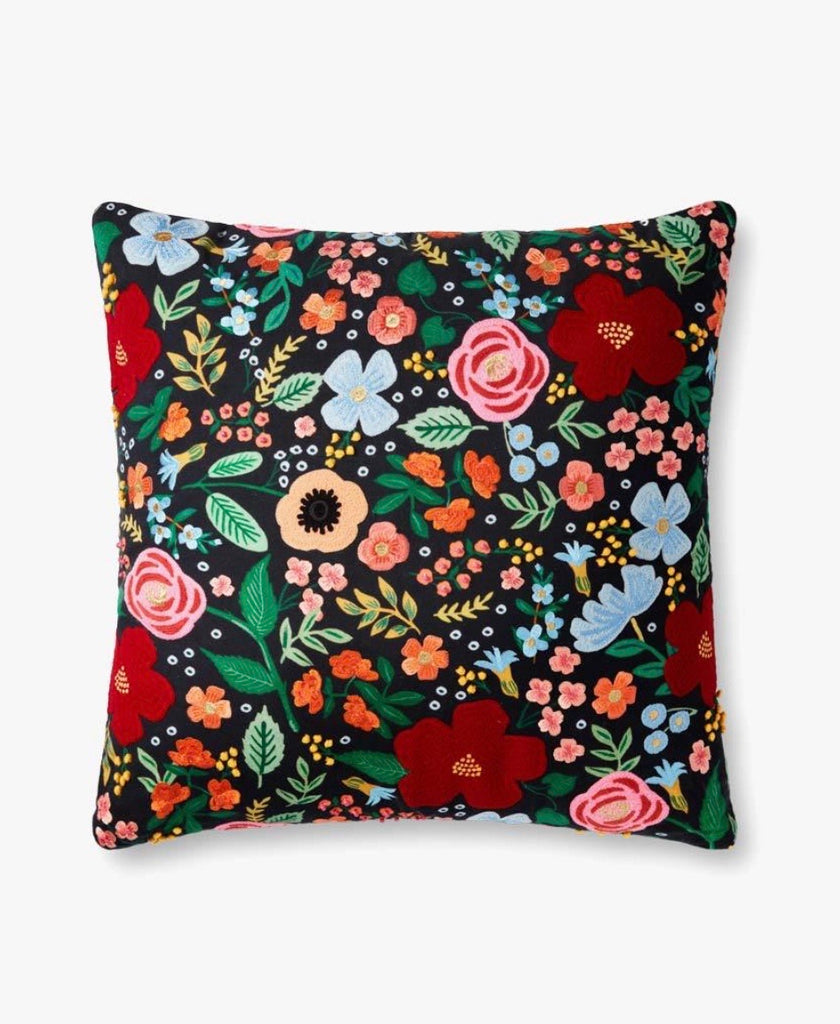 Rifle Paper Co. Wild Rose Pillow