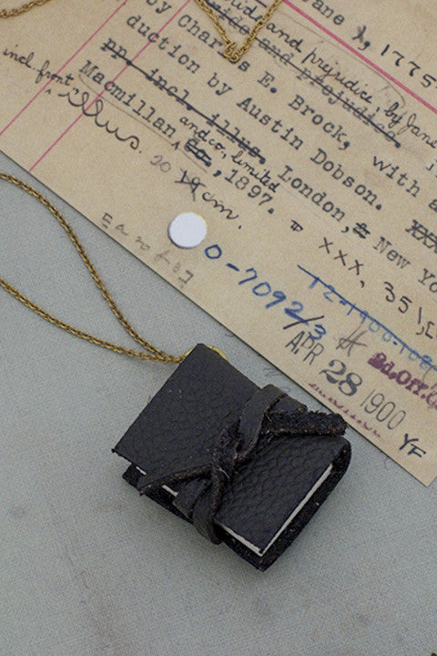 Journal Necklace