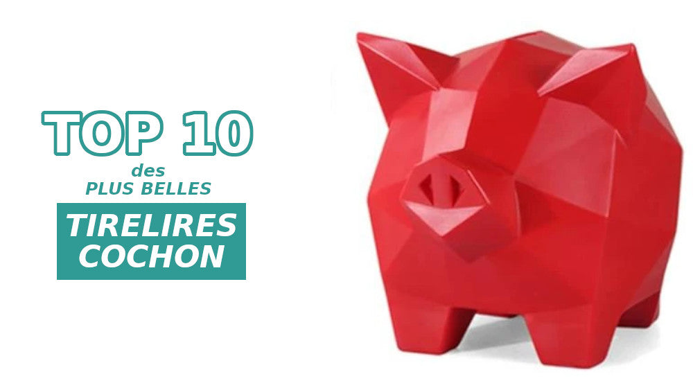 top tirelires cochon