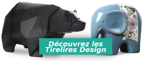 collection tirelires adultes design