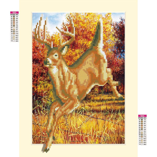 Antelope - Partial Round Diamond Painting