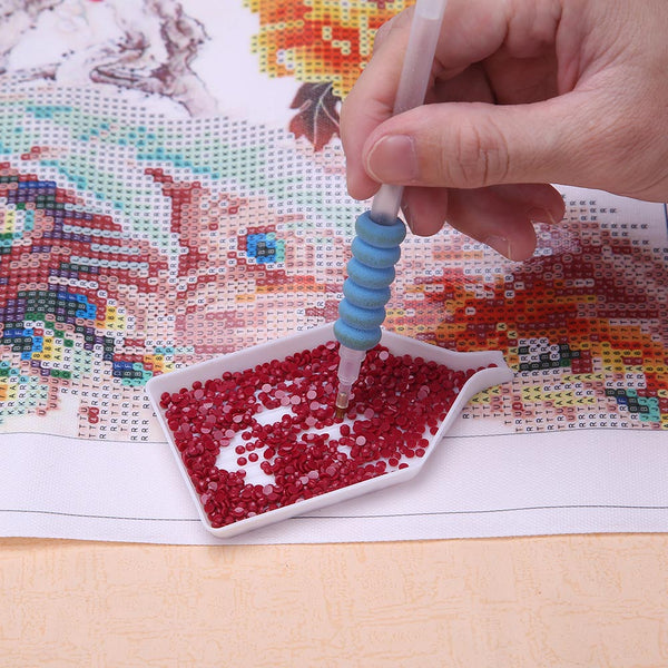 5D DIY Diamond Painting Cross Stitch Embroidery Point Drill Pen Tool Kit (B