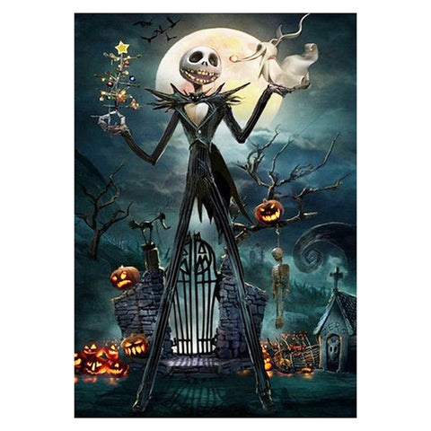 Jack Skellington - Full Round Diamond Painting