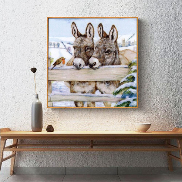 Little Donkey - Full Round Diamond Painting