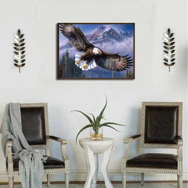 Flying Eagle - Full Round Diamond Painting