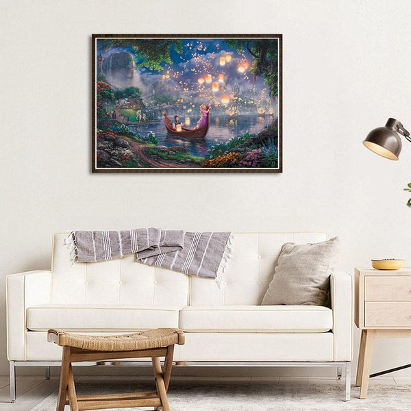 Romantic Night - Full Round Diamond Painting