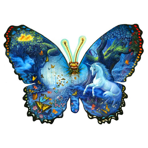 Novelty Butterfly - Full Round Diamond Painting