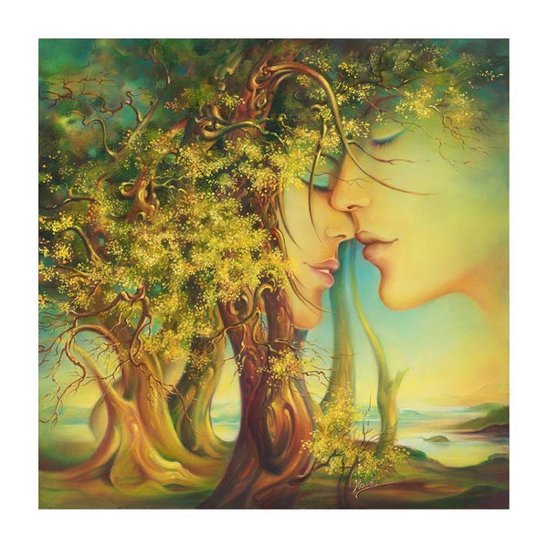 Lover Tree - Full Square Diamond Painting