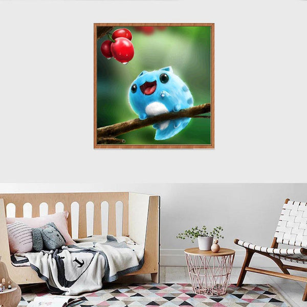 Cartoon Small Animal - Full Round Diamond Painting