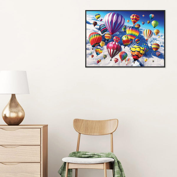 Hot Air Balloon - Full Round Diamond Painting