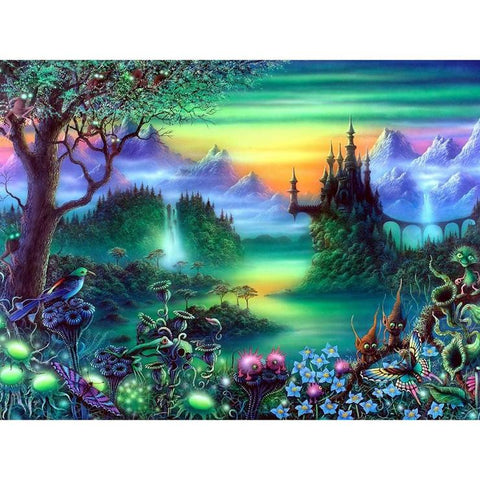 Novelty Forest - Full Square Diamond Painting