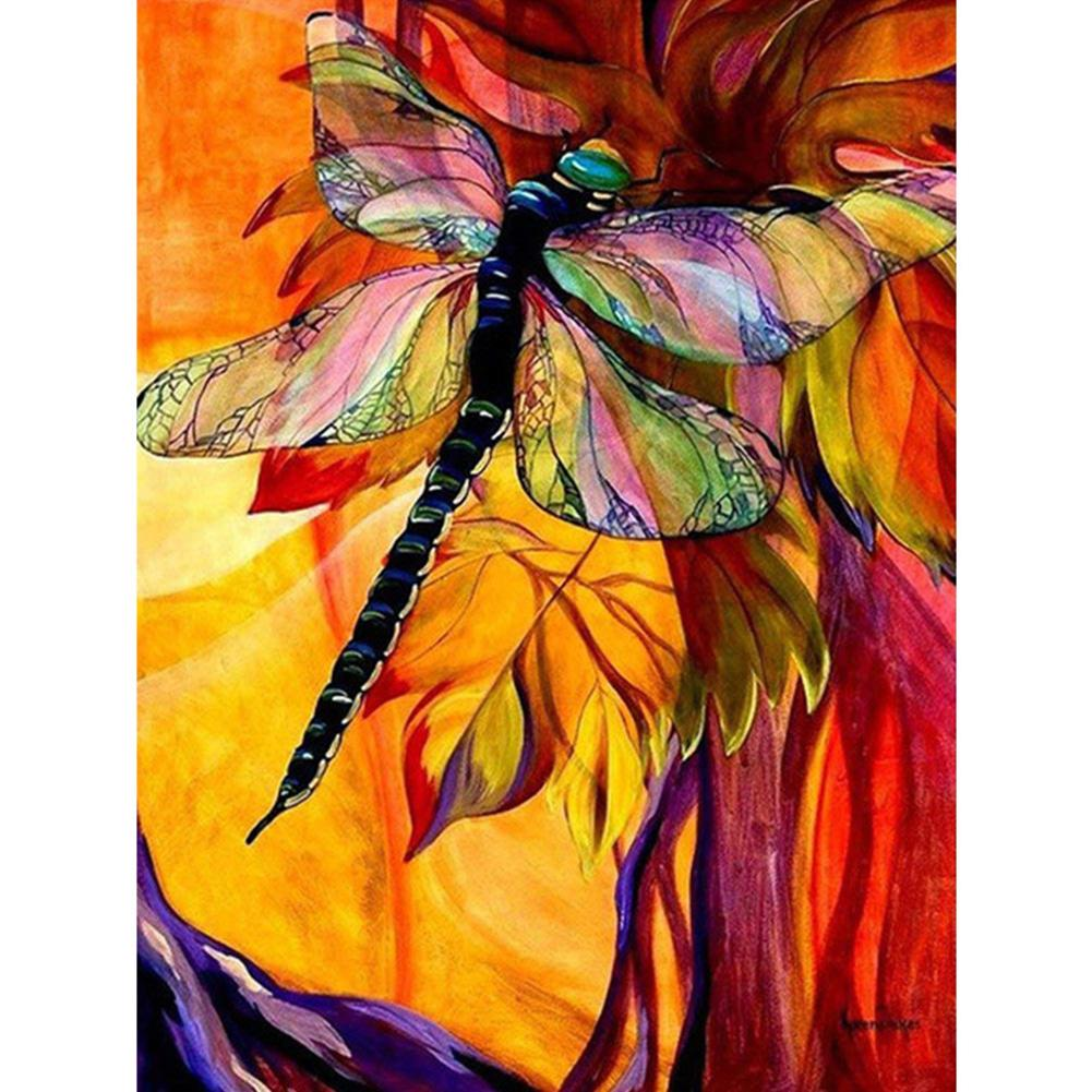 Dragonfly - Full Round Diamond Painting