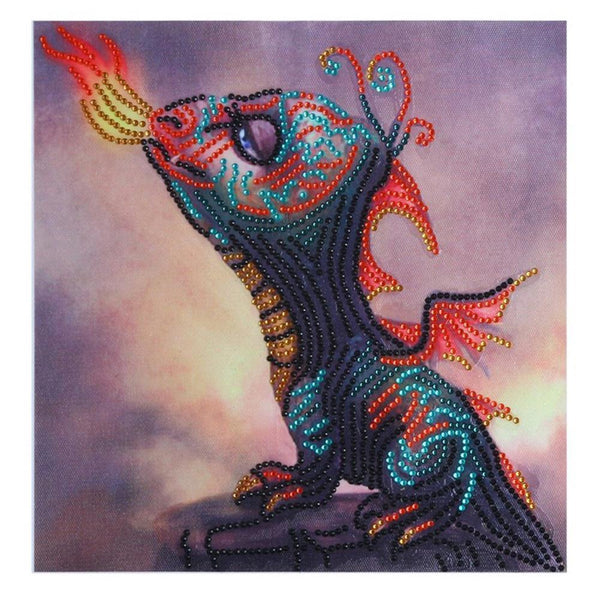 Dragon - Crystal Rhinestone Diamond Painting