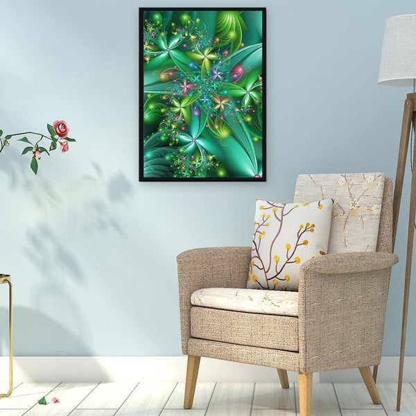 Blooming Flower - Full Round Diamond Painting