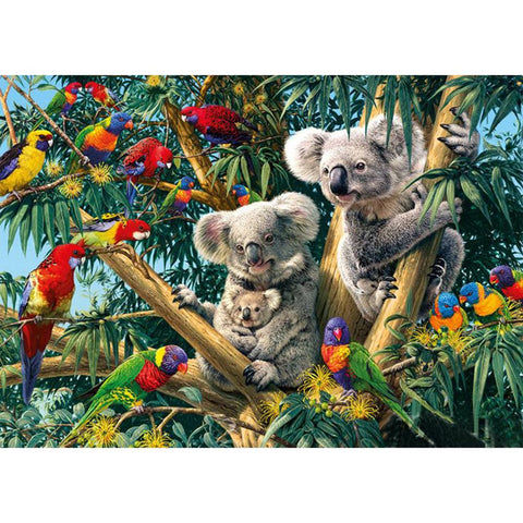 Iridescence Koala - Full Round Diamond Painting