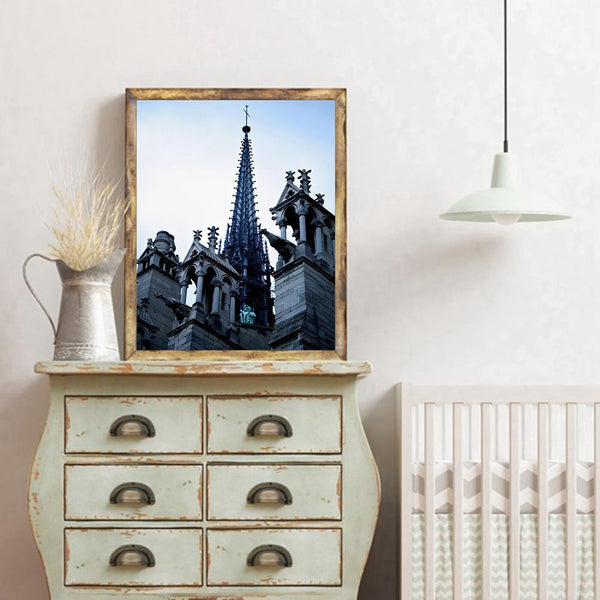 Notre Dame de Paris - Full Round Diamond Painting