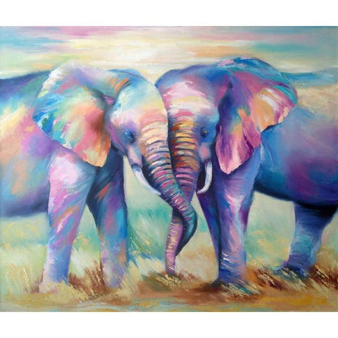 Elephant - Full Round Diamond Painting