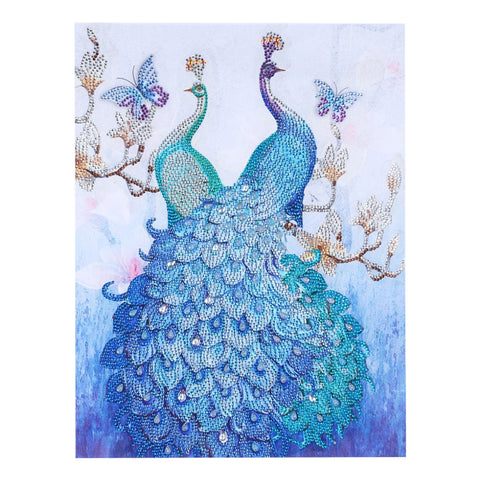Peafowl - Crystal Rhinestone Diamond Painting (40*50cm)