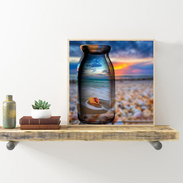 Bottle Sea Snail - Full Round Diamond Painting