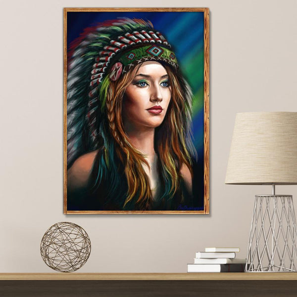 Beauty - Full Round Diamond Painting