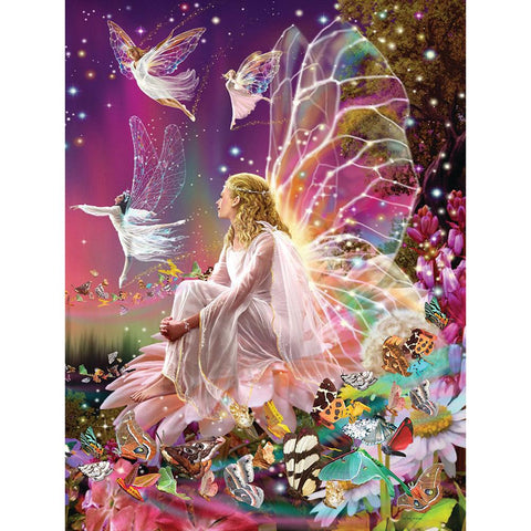 Butterfly Fairy - Full Square Diamond Painting