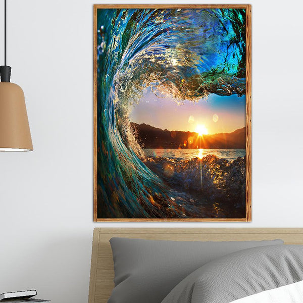 Wave - Full Square Diamond Painting