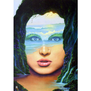 Mother Sea - Full Square Diamond Painting