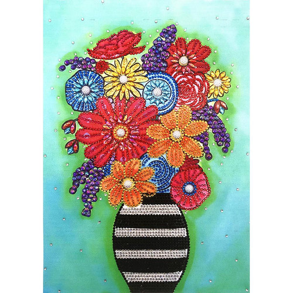 Vase - Crystal Rhinestone Diamond Painting