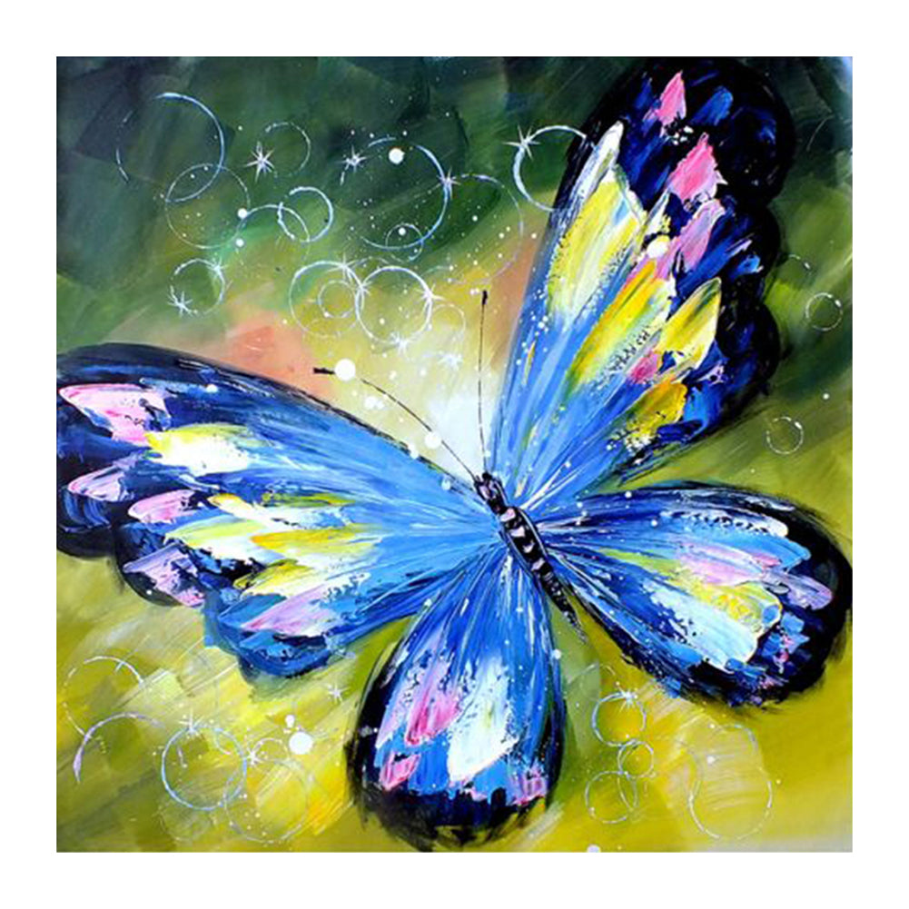 Charming Butterfly - Full Round Diamond Painting