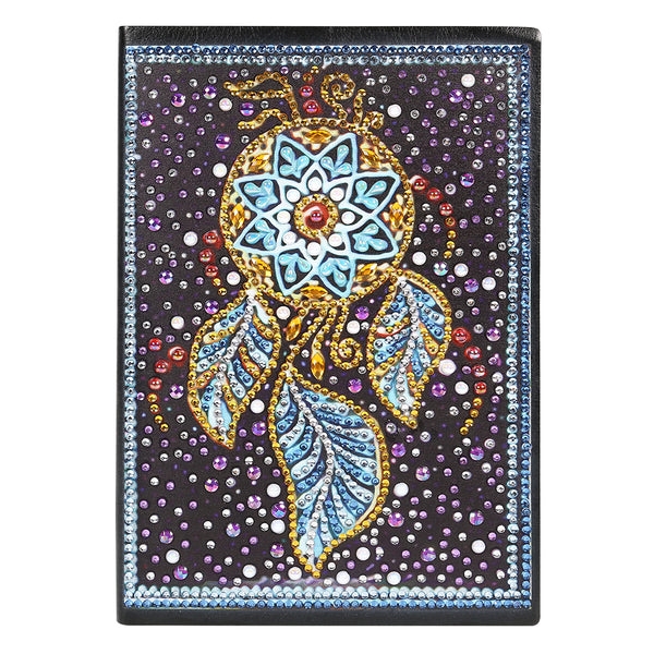 DIY Dream Catcher Special Shaped Diamond Painting 60 Sheets A5 Notebook