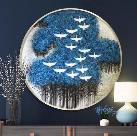 Forest - Full Round Diamond Painting(40*40cm)