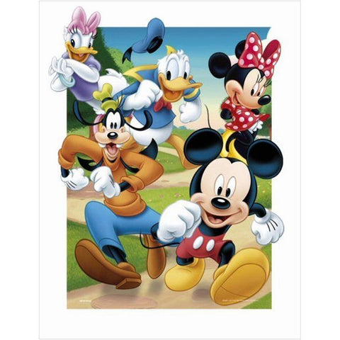 Mickey Mouse - Full Round Diamond Painting(40*50cm)