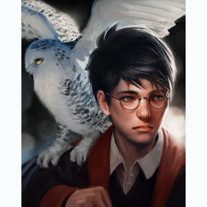 Harry Potter - Full Round Diamond Painting