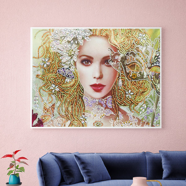 Beauty - Crystal Rhinestone Diamond Painting