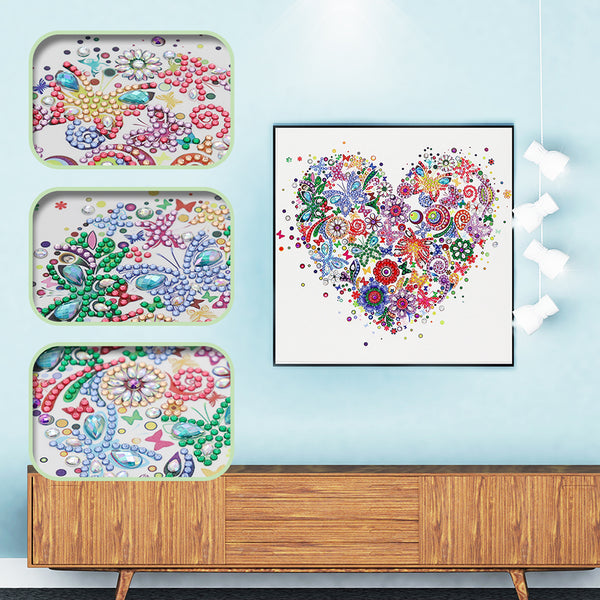 Heart - Crystal Rhinestone Diamond Painting
