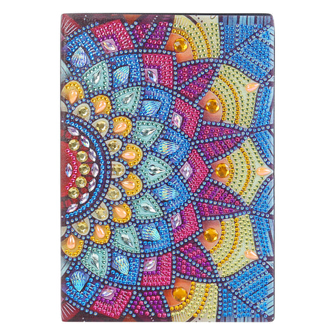 DIY Special Shaped Diamond Painting Colorful 50 Pages A5 Drawing Notebook