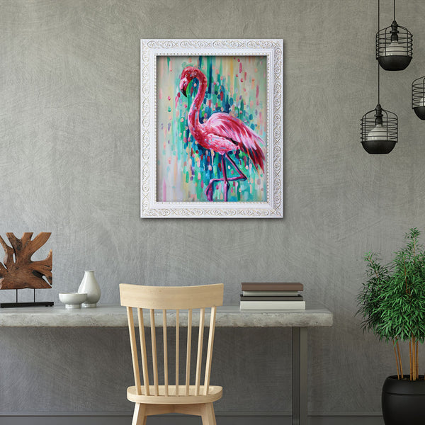 Flamingo - Full Round Diamond Painting