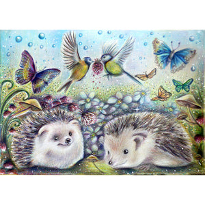 Hedgehog - Full Round Diamond Painting