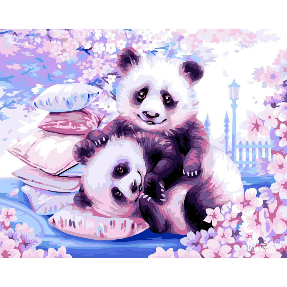 Panda - Full Round Diamond Painting